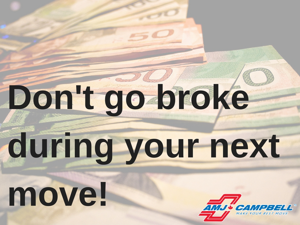 Don't go broke during your next move!