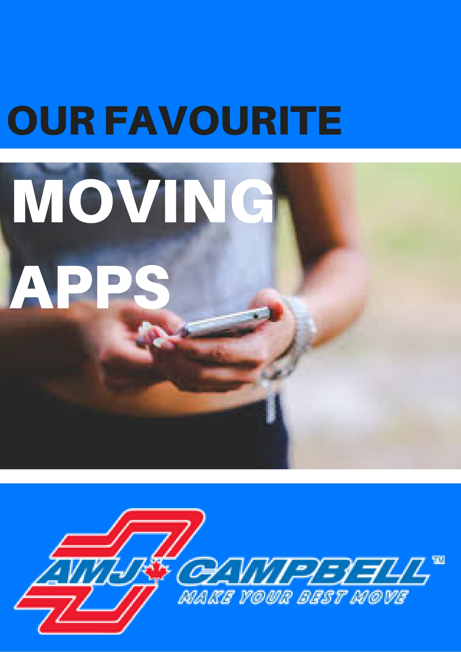 Our Favorite Moving Apps!