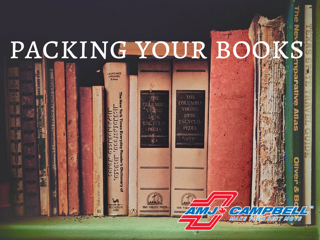 Packing your books, the best way!