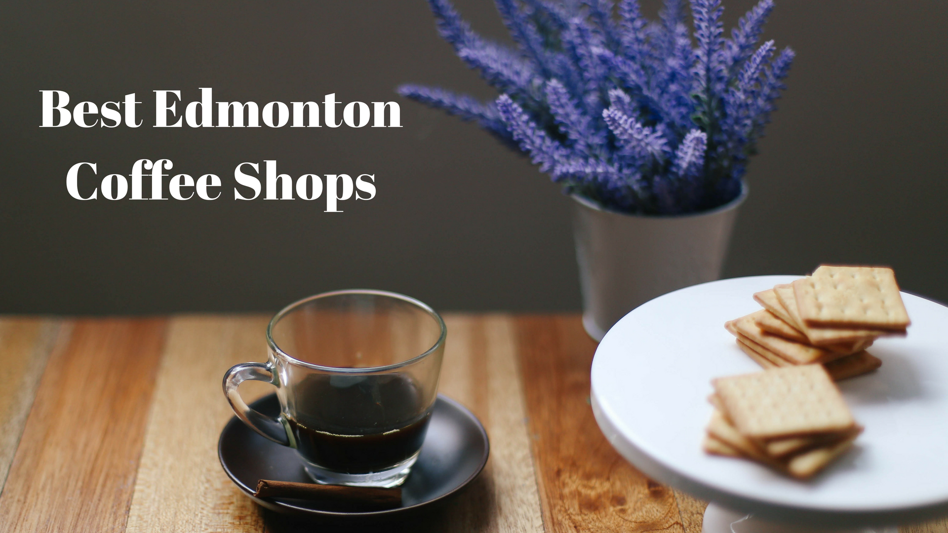 Edmonton's Best Coffee Shops